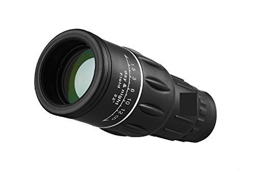 16 x 52 dual focus optics zoom monokular teleskope tag und nacht